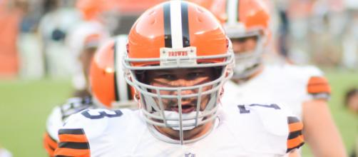 Joe Thomas was named to the Pro Bowl in each of his first 10 seasons. - [Erik Drost / Flickr]