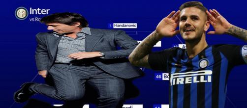 La nuova Inter potrebbe ripartire da Conte e Icardi