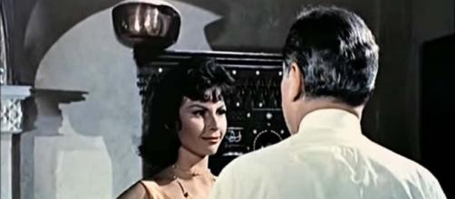 "Nadja Regin starred in ""From Russia with Love"" and ""Goldfinger."" [Image Movieclips Classic Trailers/YouTube]"