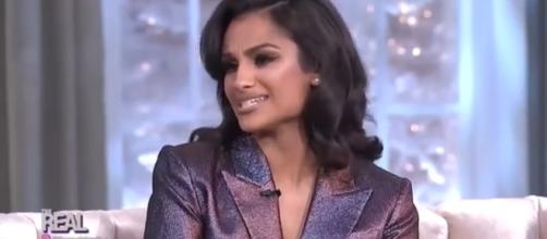Nazanin Mandi is joining the cast of 'Y&R,' possibly as the new Lily. - [The Real / YouTube screencap]