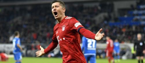 Robert Lewandowski marque but sur but avec le Bayern