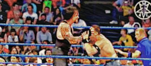 Undertaker in action. - [WWE / YouTube screencap]