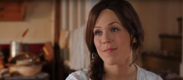 Erin Krakow of 'When Calls the Heart used a stunning photo and few words in her return to social media. - [ShoutFactory / YouTube screencap]