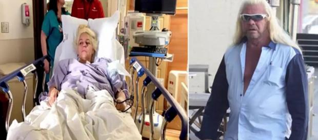 Famous bounty hunter and reality star Beth Chapman recovering at home after recent surgery. - [CELEBRITY CBN / YouTube screencap]