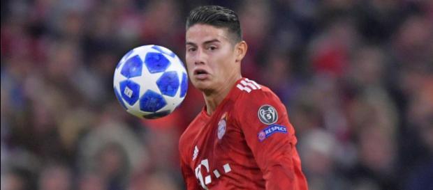 FC Bayern: Unzufriedener James Rodriguez spricht über Abschied - t-online.de