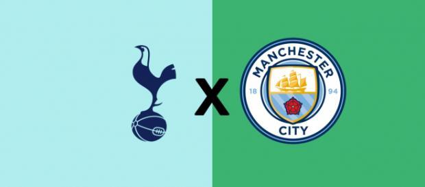 Tottenham x Manchester City ao vivo. (Fotomontagem/Diogo Marcondes)