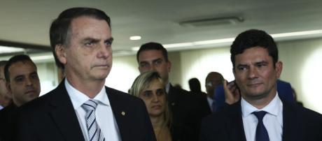 Bolsonaro tenta manter o Coaf com Moro. (Arquivo Blasting News)
