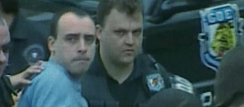 Alexandre foi condenado a 30 anos e dois meses de prisão (Reprodução/ TV Globo)