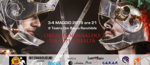 """Locandina spettacolo """"Orlando e Rinaldo"""""""
