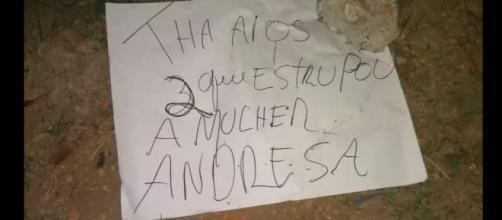 A polícia concluiu que os corpos encontrados são realmentes do caso de Andresa. (Reprodução/Polícia Civil)