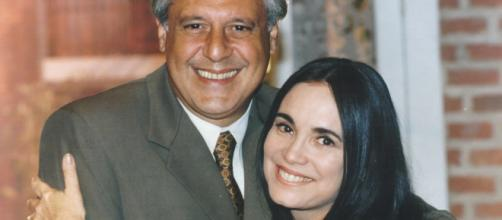 Atílio e Helena em 'Por Amor'. (Arquivo Blasting News)