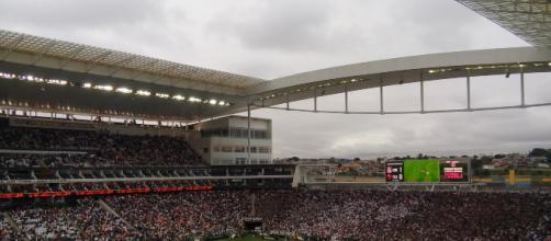 Corinthians homenageia Gaviões da Fiel em segundo uniforme. (Arquivo Blasting News)