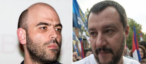 Saviano contro Salvini sulla questione cannabis