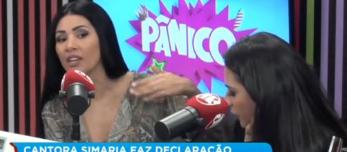 Simaria diz que desde pequena dizia que não se casaria com um homem brasileiro. (Reprodução/YouTube)