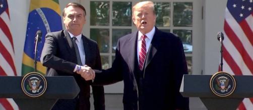 Trump diz que reconhece o comprometimento do Brasil em aumentar a cooperação militar com os Estados Unidos. (Arquivo Blasting News)