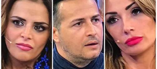 Uomini e Donne: Riccardo, Ida e Roberta.