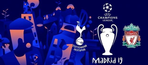 Finale di Champions League Tottenham-Liverpool