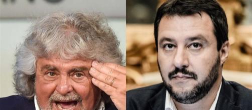Beppe Grillo all'attacco di Matteo Salvini e Lilli Gruber
