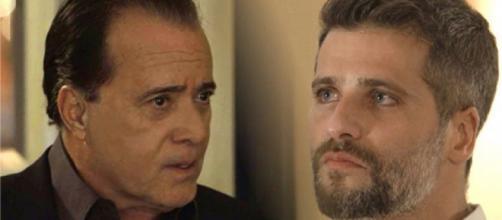 Gabriel e Olavo serão assassinados no último capítulo de 'O Sétimo Guardião'. (Divulgação/ TV Globo/GShow)
