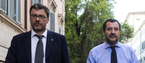 Giancarlo Giorgetti e il presunto complotto ai danni della Lega