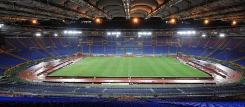 Lo stadio Olimpico ospiterà domani sera la sfida tra Roma e Juventus
