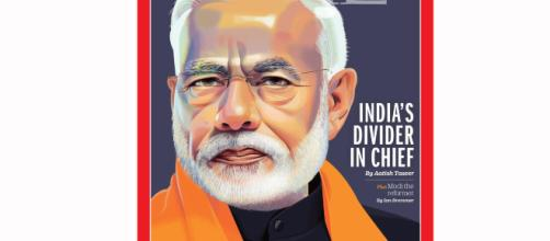 Narendra Modi: Time magazine calls Modi 'India's divider-in-chief ... - (Image via indiatimes/Twitter)
