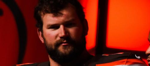 Joe Thomas clapped back at an NFL analyst. [Image via Erik Drost/Wikimedia Commons]