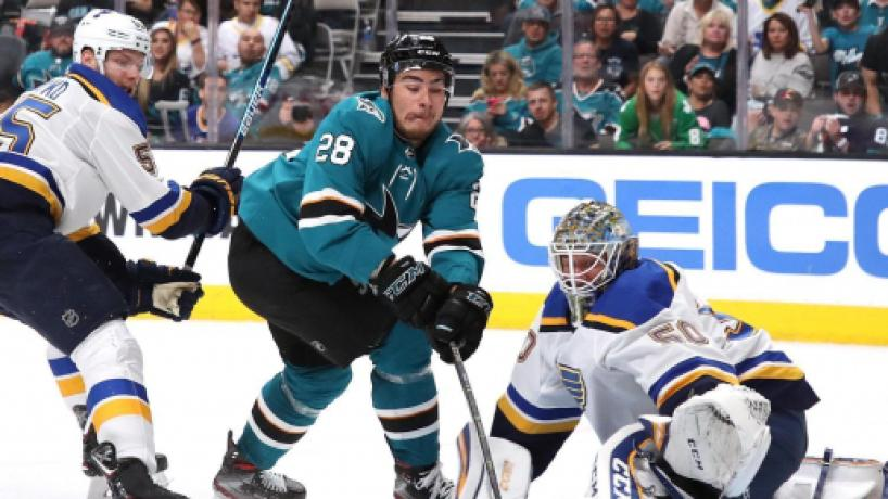 NHL PLAYOFFS/ San Jose Sharks ganan a los Blues en la Final del Oeste con un resultado de 6-3