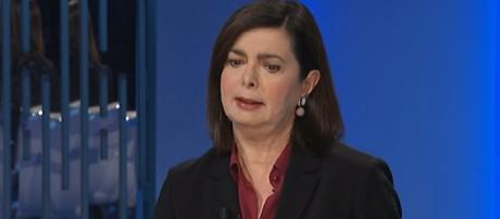 Laura Boldrini annuncia il proprio voto al PD alle Europee