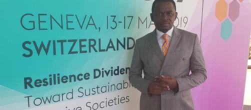 Le Maire de la Commune d'Arrondissement de Yaoundé 6 (c) Yoki Onana