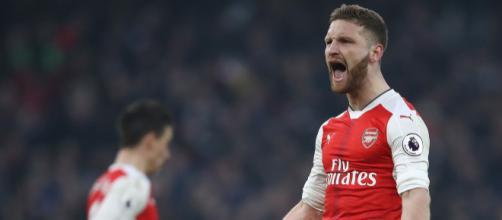 Mustafi, forte difensore dell'Arsenal