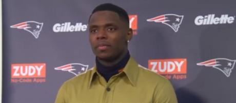 John Gordon was suspended for violating the terms of his reinstatement. [Image Source: New England Patriots/YouTube]