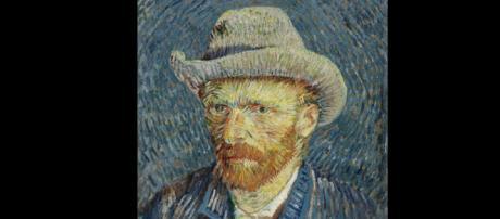 Vincent van Gogh self-portrait. [Public Domain]