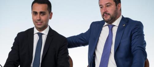 Salvini e Di Maio: divergenza di opinioni.