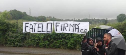 Addio di De Rossi alla Roma: contestazioni oggi a Trigoria, il capitano a colloquio con gli ultras.