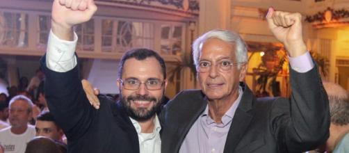Mário Bittencourt e Celso Barros: unidos nas eleições do Fluminense. (Divulgação/Armando Paiva/Tantas Vezes Campeão)