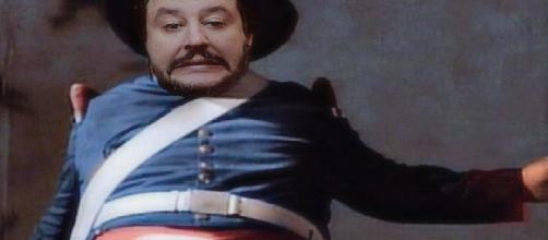Matteo Salvini, in rete spopola il pupazzetto di 'don Don Diego della Lega'