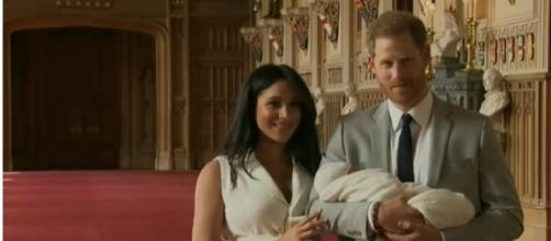 Meghan Markle and Prince Harry welcome their Royal Baby, Archie Harrison Mountbatten-Windsor. [Image source/TODAY YouTube video]