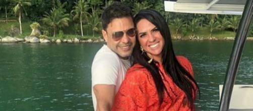 O casal está com casamento marcado para fevereiro de 2020. (Reprodução/Instagram@gracielelacerdaoficial)