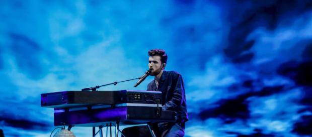 Duncan Laurence, representante de Países Bajos, durante su actuación. / eurovision.tv