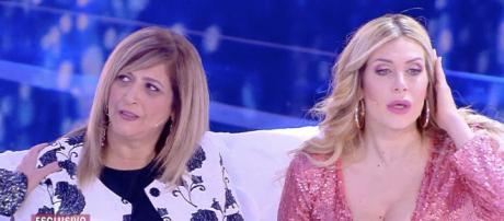 Paola Caruso con la madre naturale
