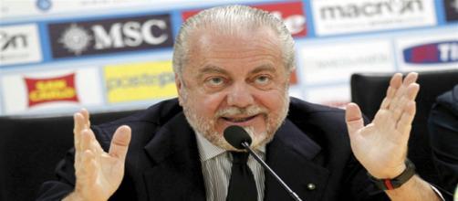 De Laurentiis: 'Agnelli ha potere, alla Juve hanno regalato 75 milioni per lo stadio'