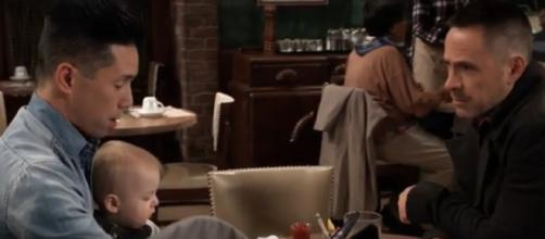 General Hospital: Lucas discovers the truth about Willow. [Image Source: HR/YouTube/Screencap]