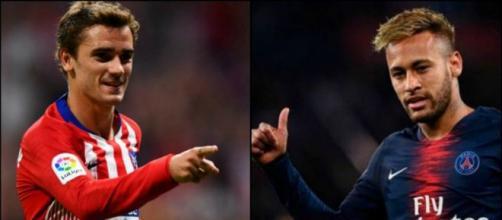 Mercato PSG : Griezmann pourrait venir remplacer Neymar