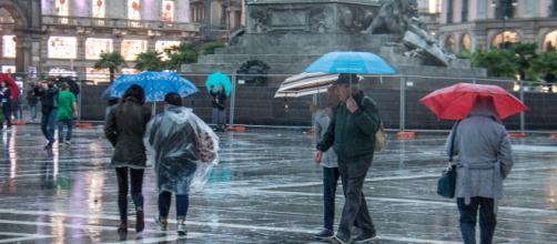 Meteo, ancora maltempo sull'Italia: temporali, grandine e nubifragi.