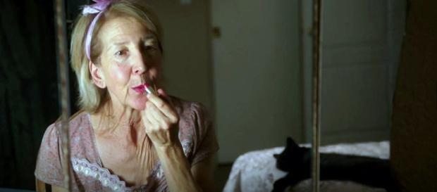 Joyce (Lin Shaye) prepares for her new tenant. [Photo used with director Tommy Stovall's permission]