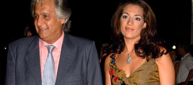 Chiquetete y Raquel Bollo, cuando eran marido y mujer. / bekia.es