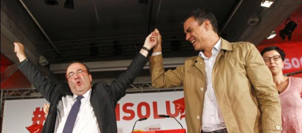 Pedro Sánchez no esta favor del veto a Miguel Iceta como presidente del Senado