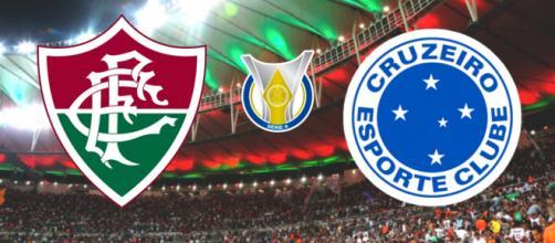 Fluminense x Cruzeiro: transmissão ao vivo pelo PFC. (Reprodução/ Montagem)