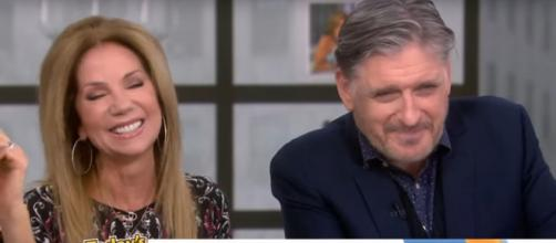 Kathie Lee Gifford sends birthday greetings to Craig Ferguson and prepares to be mother of the groom. [Image source:TODAY-YouTube]